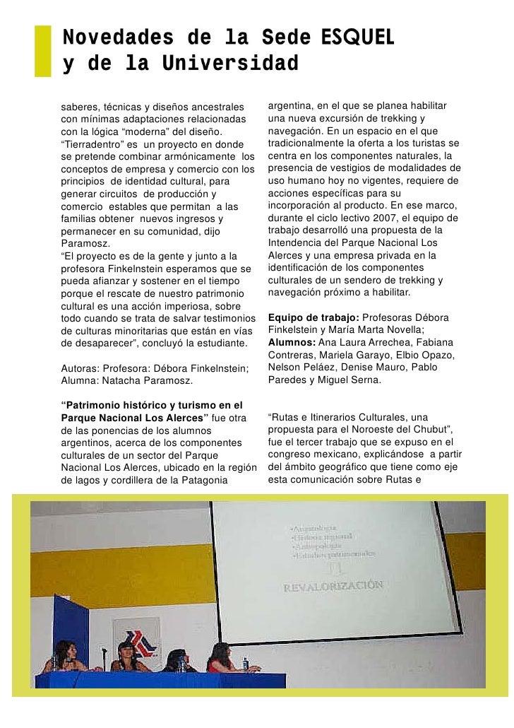 saberes, técnicas y diseños ancestrales      argentina, en el que se planea habilitar con mínimas adaptaciones relacionada...