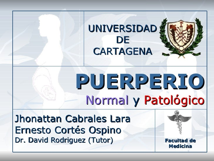 Puerperio normal y patologico 119802309093860 5 ppt share).