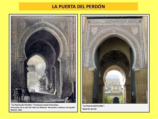 """LA PUERTA DEL PERDÓN """"La Puerta del Perdón"""". Francisco Javier Parcerisa. Ilustración de la obra de Pedro de Madrazo """"Recue..."""