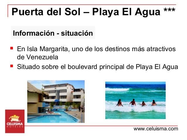 Hotel celuisma puerta del sol playa el agua for Puerta de sol margarita