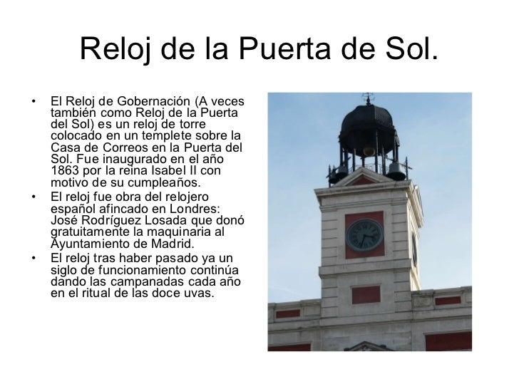 Puerta de sol madrid for El reloj de la puerta del sol