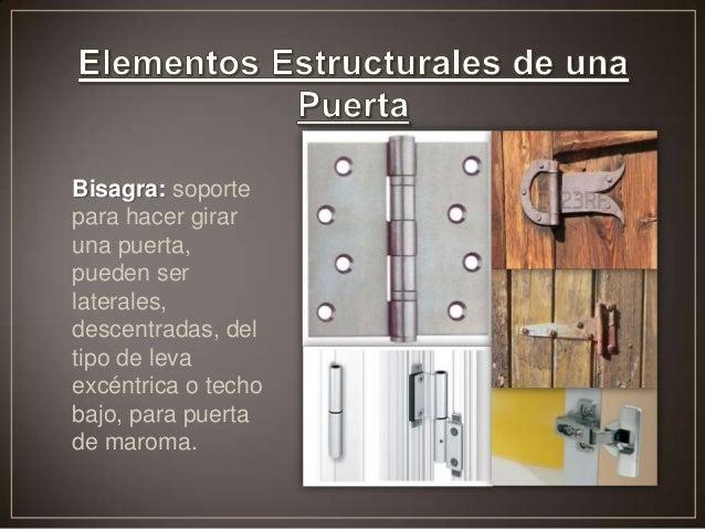 Puertas - Tipos de bisagras para puertas ...