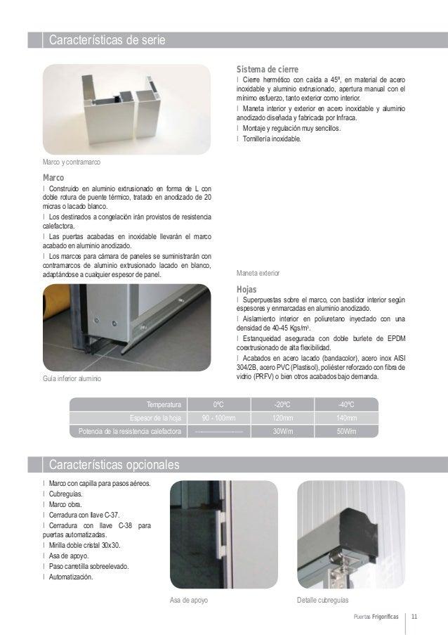 Cat logo de puertas correderas para c maras frigor ficas - Puertas norma catalogo ...