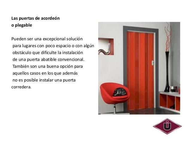 Tipos de puertas - Puertas tipo acordeon ...