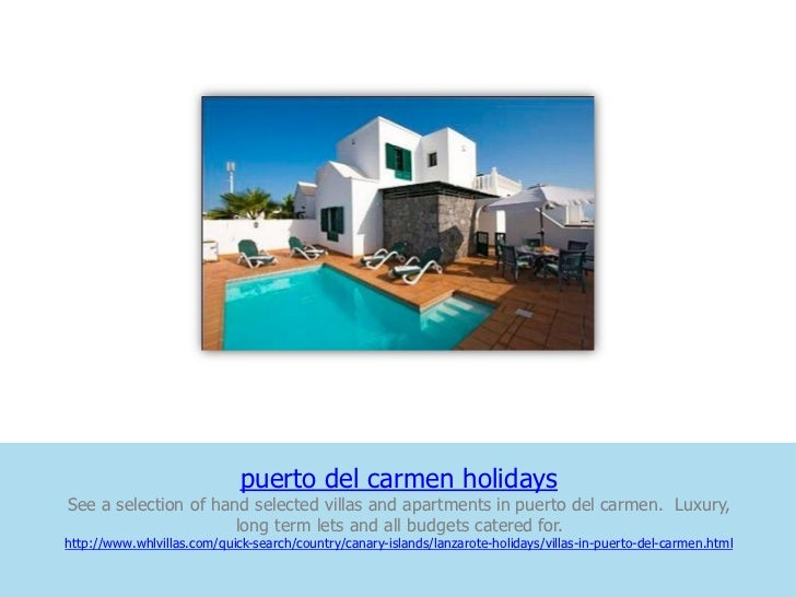 puerto del carmen holidaysSee a selection of hand selected villas and apartments in puerto del carmen. Luxury,            ...