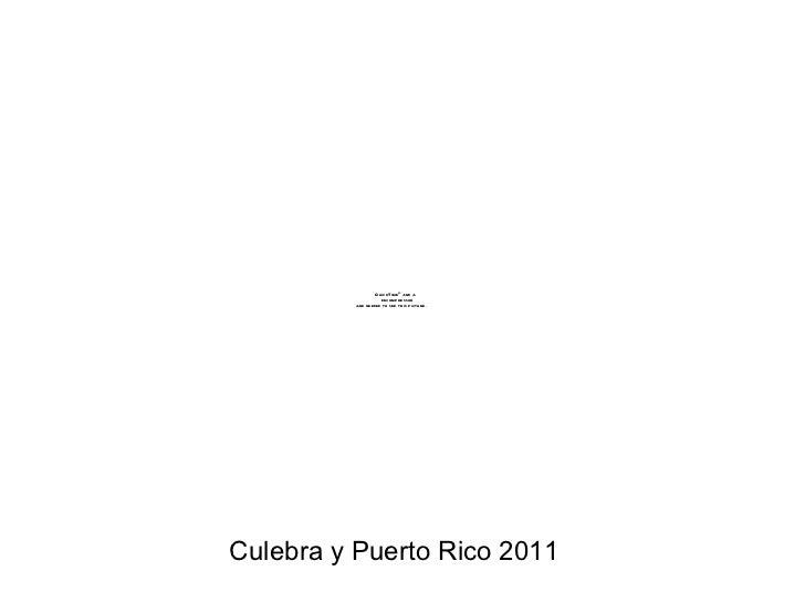 Culebra y Puerto Rico 2011