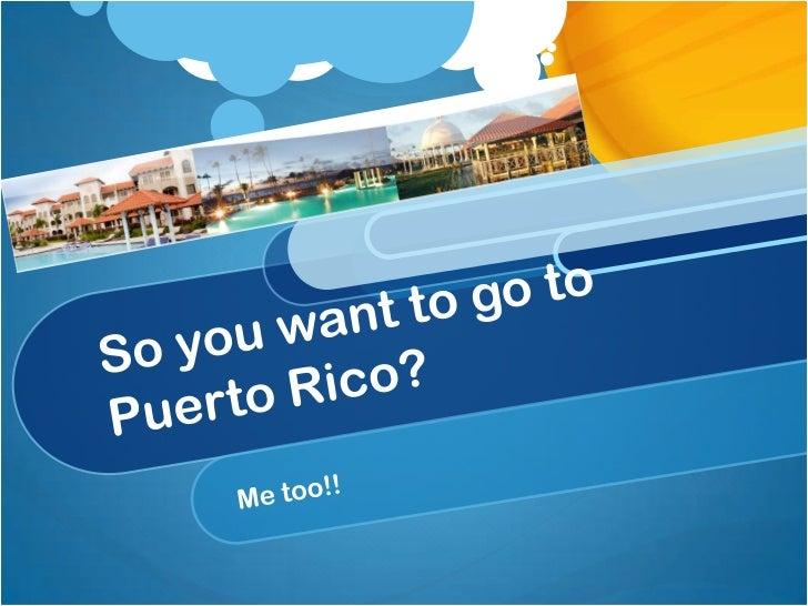 Where in Puerto Rico? CLUB MELIA AT GRAN MELIA PUERTO RICO (#7597) Urb. Coco Beach 200 Carr 968 Rio Grande, PR 00745 http:...