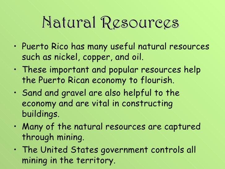 Puerto Rico Natural Resources 110