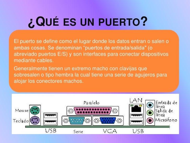 Puertos y conectores del pc for Que es un vivero frutal