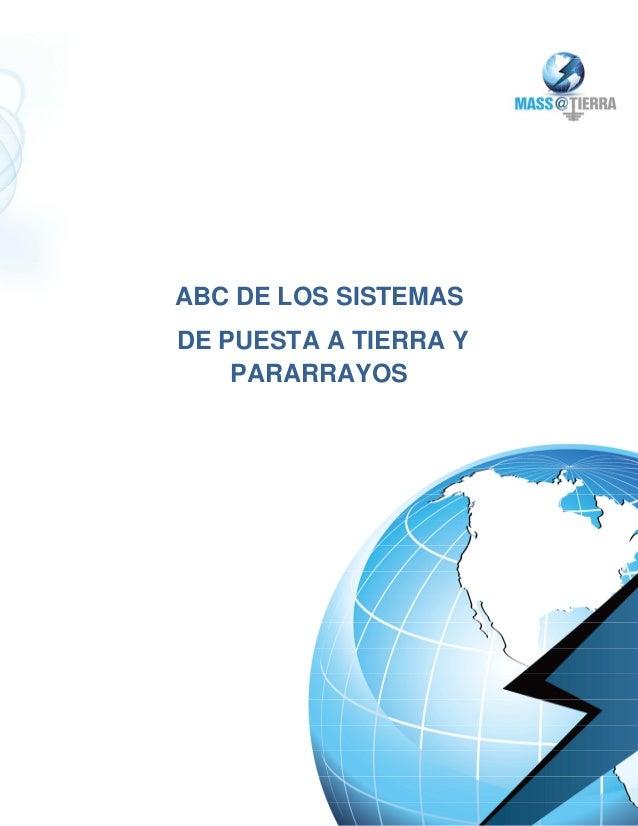 ABC DE LOS SISTEMASDE PUESTA A TIERRA Y    PARARRAYOS
