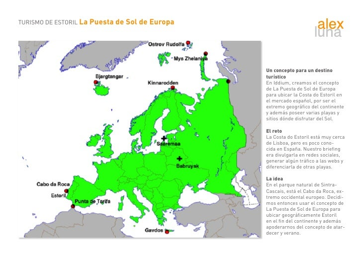 TURISMO DE ESTORIL La Puesta de Sol de Europa                                                     Un concepto para un dest...