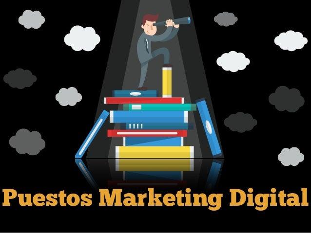 Puestos Marketing Digital