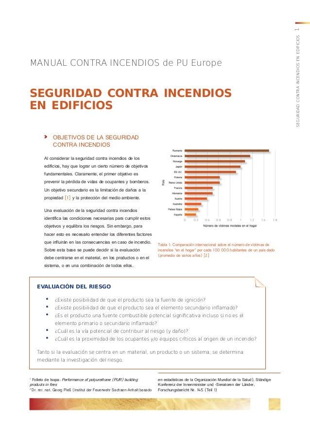 MANUAL CONTRA INCENDIOS de PU Europe en estadísticas de la Organización Mundial de la Salud), Ständige Konferenz der Innen...