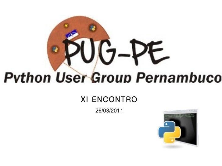 XI ENCONTRO 26/03/2011