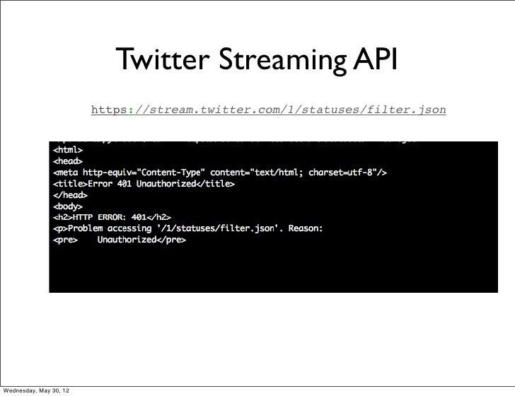 Twitter - Realtime API Hub