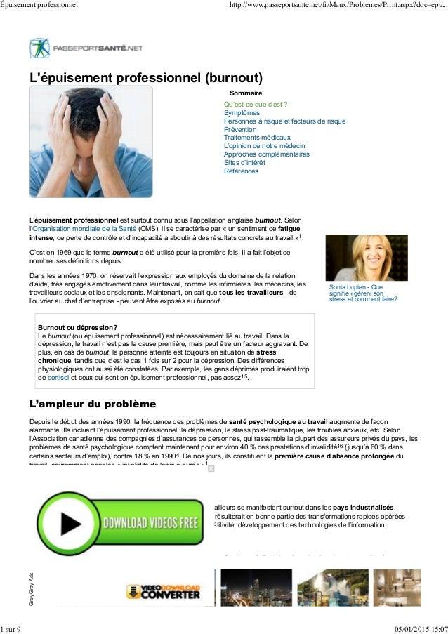 Sommaire Qu'est-ce que c'est ? Symptômes Personnes à risque et facteurs de risque Prévention Traitements médicaux L'opinio...