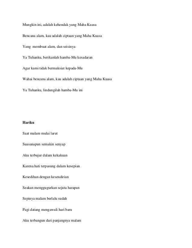 Puisi Rhea Elian X Ipa 4 28