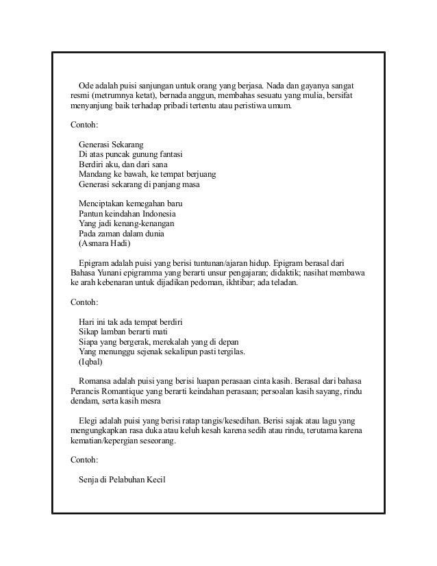 Puisi Baru