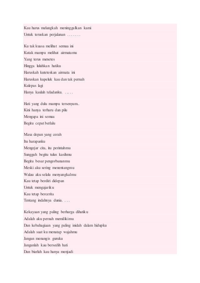 Puisi Guru