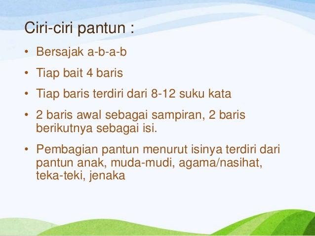 Puisi Lama Ef Bc D
