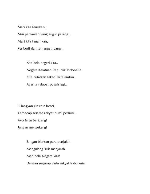 Krisanty Amelia Andriyani  Ixc Puisi Bertema Bela Negara