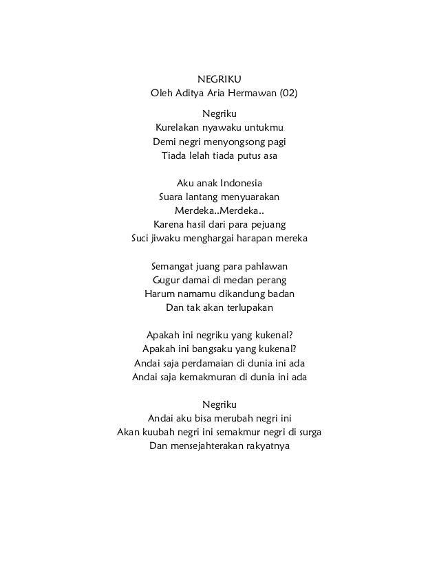 Pantun Indonesia Merdeka 2014 Puisi Cinta By Anisayu