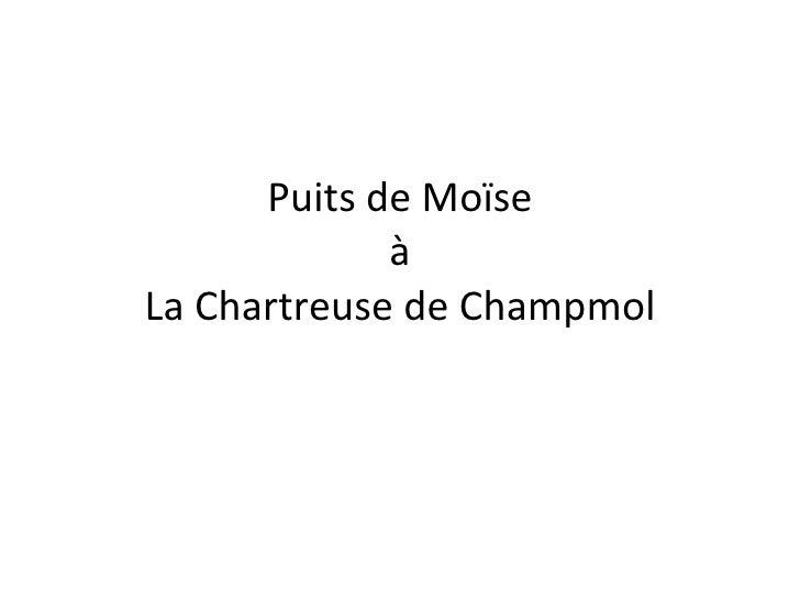 Puits de Moïse à La Chartreuse de Champmol
