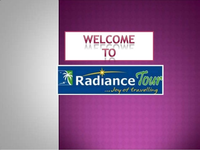 Radiance Tour: The best travel agency in kolkata provides special offers in this Puja.