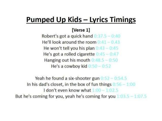 Foster The People - Pumped Up Kicks [LYRICS] - YouTube