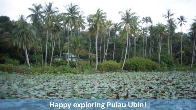 Happy exploring Pulau Ubin!