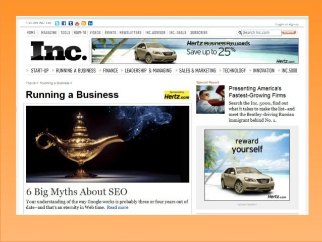 @juntajoeWhy?Welcome to Inc.com, the placewhere entrepreneurs and businessowners can find useful information,advice, insig...