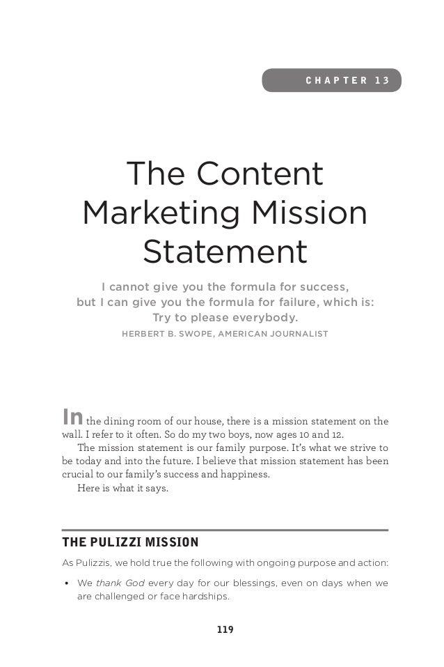 Joe Pulizzi's Epic Content Marketing - Sample Chapter Slide 2