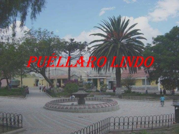 PUÉLLARO LINDO<br />
