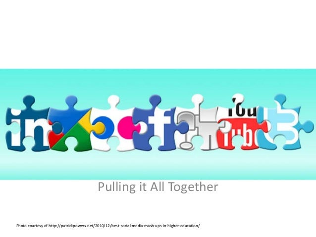 Pulling it All TogetherPulling it All TogetherPhoto courtesy of http://patrickpowers.net/2010/12/best-social-media-mash-up...