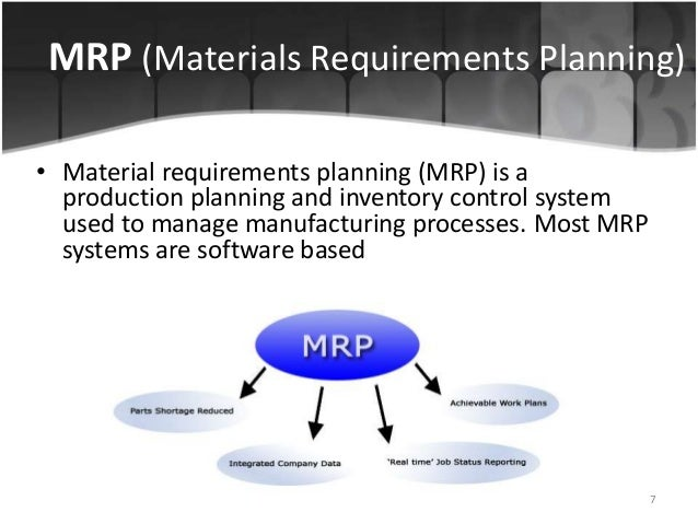 """toyota material requirements planning mrp Heroes of manufacturing, mrp, joseph orlicky  interestingly, he studied the  toyota production system (tps) as part of his research  however, when his  second book, """"material requirements planning: the new way of life."""