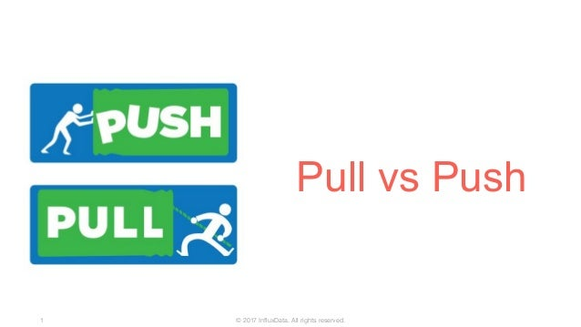 © 2017 InfluxData. All rights reserved.1 Pull vs Push