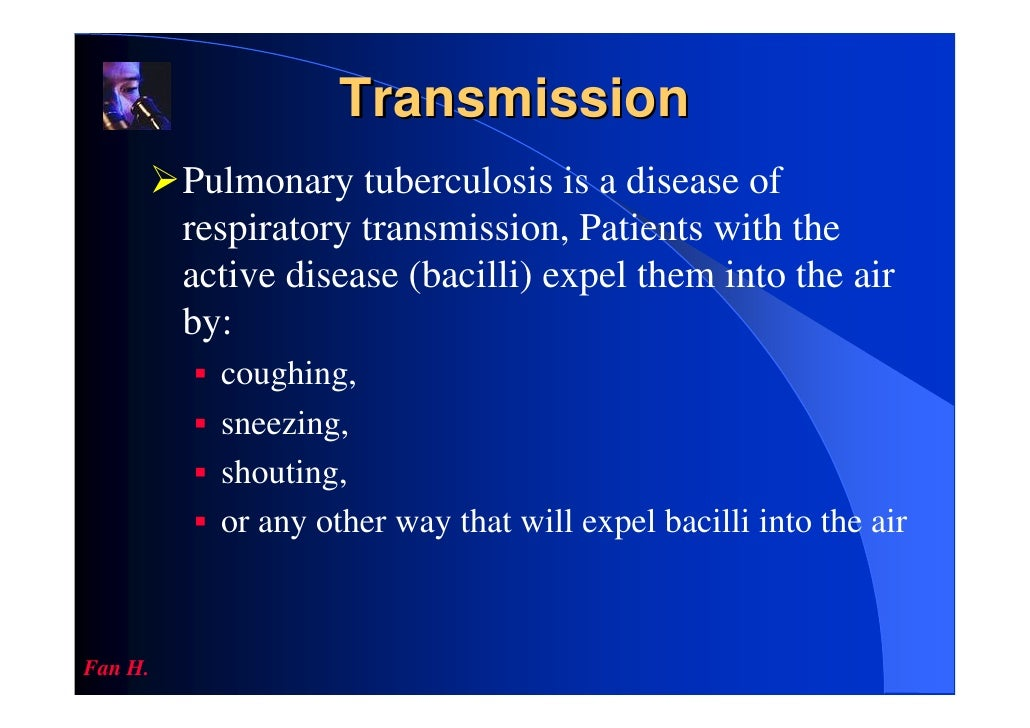 pulmonary tuberculosis Pulmonary tuberculosis tb tuberculosis - pulmonary mycobacterium - pulmonary pulmonary tuberculosis (tb) is a contagious bacterial infection that involves the lungs.