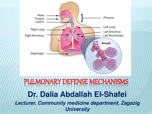 Pulmonary Defense Mechanisms