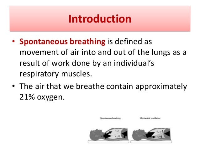 What you can control in Ventilation • Volume V : how much air will get in and out of patient. • Pressure P: how much press...