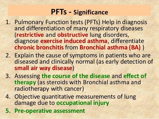 Pulmonary function testing (spirometry )  Slide 2