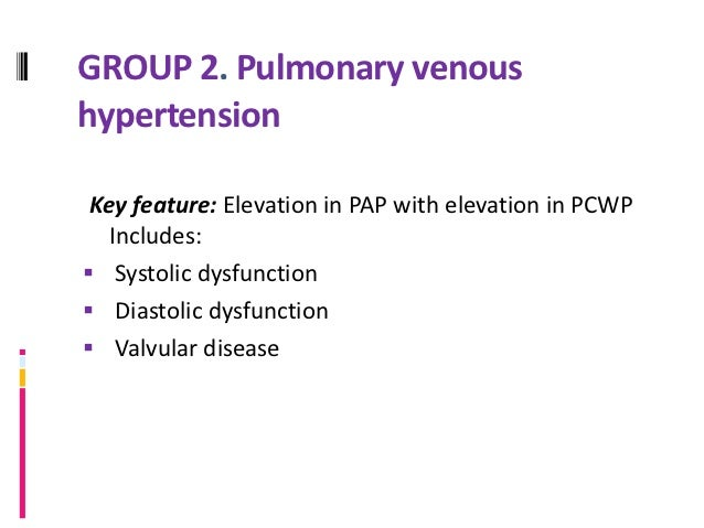 GROUP 3. PH ASSOCIATED WITHHYPOXEMIC LUNG DISEASE.Key feature: chronic hypoxia with mild elevation of    PAP, Includes:  ...
