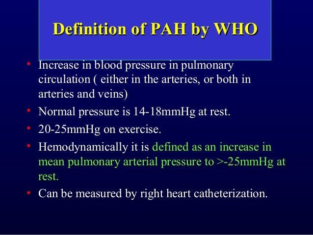 Pulmonary hypertension (2014) dr.tinku joseph Slide 3
