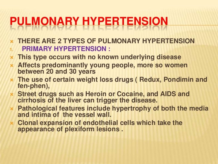 fen phen pulmonary hypertension chest