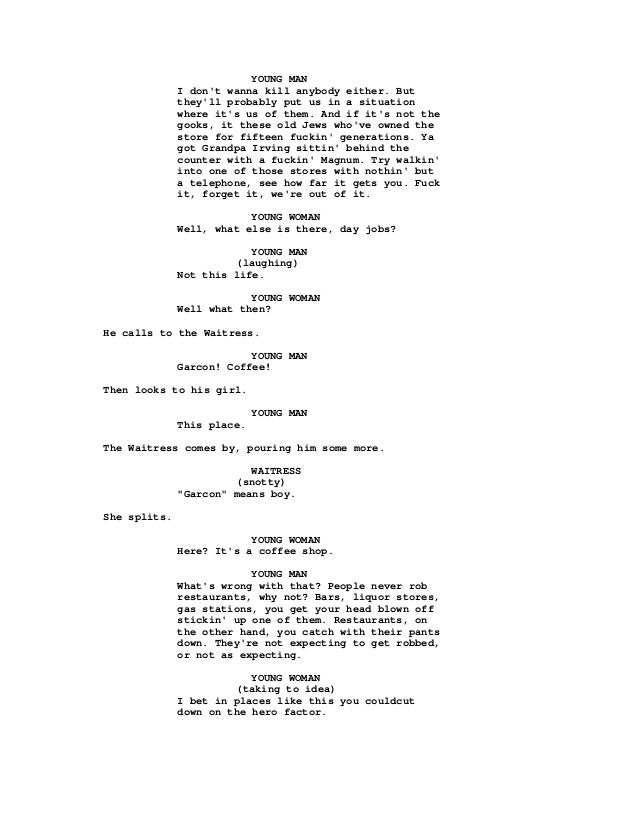 Pulp Fiction Screenplay Quentintarantinojohnavary