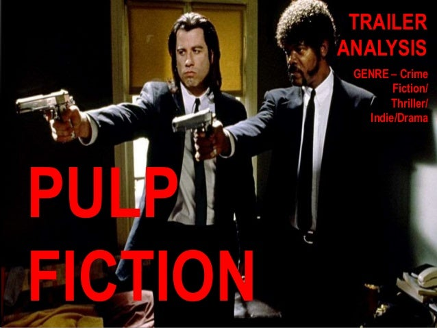 pulp fiction analysis