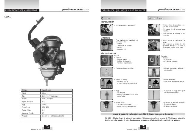 pulsar 135 manual peru rh es slideshare net manual pulsar 135 pdf español manual pulsar 135 ls pdf