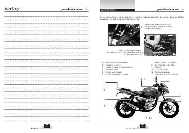 pulsar 135 manual peru rh es slideshare net manual pulsar 135 pdf español manual pulsar 135 pdf