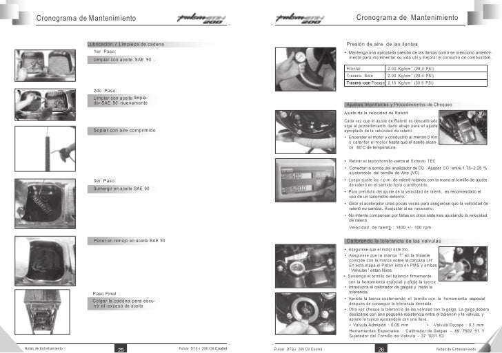 Manual Taller Bajaj. manual de taller o servicio bajaj