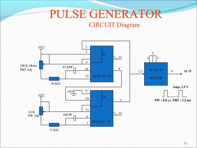 Pulse Generator on circuit diagram drawer