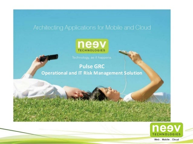 Pulse GRC Operational and IT Risk Management Solution